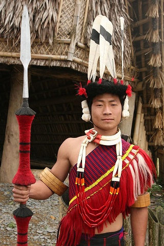 Nagaland India tribesman