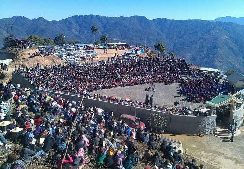 Nagaland India Sumi Martyrs' Day