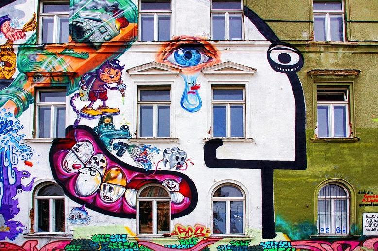 graffiti in color