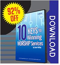 10 Keys to Winning Worship Services