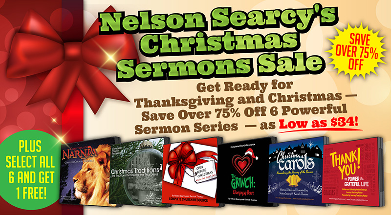 Christmas Sermons Sale - Save Up to 80% | Church Leader Insights