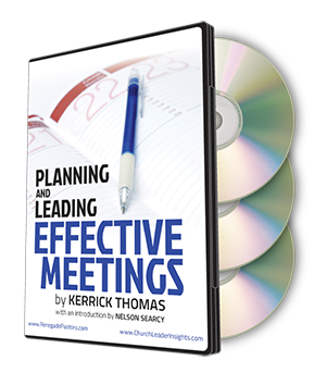 Planning and Leading Effective Meetings