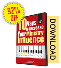 10 Ways to Increase Your Ministry Influence