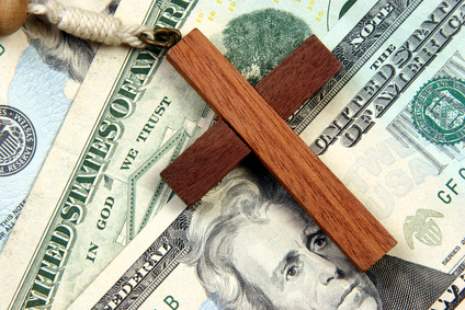 Image result for church money