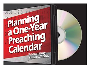 Planning a One-Year Preaching Calendar