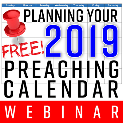Planning Your Preaching Calendar Retreat: How to Maximize