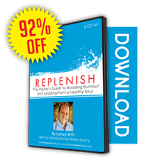 Replenish: The Pastor's Guide to Avoiding Burnout and Leading from a Healthy Soul