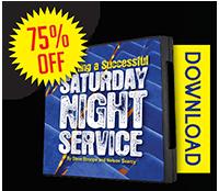 Starting a Successful Saturday Night Service