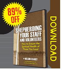 Shepherding Your Staff and Volunteers