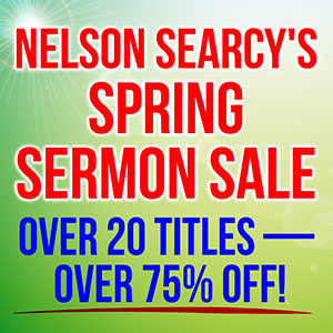 Spring Sermon Sale - Save Over 75%!