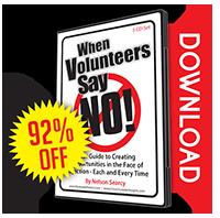 When Volunteers Say NO!