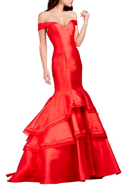 Mackenzie red dress