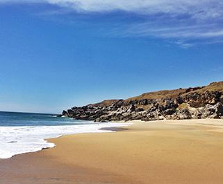 Playa en puerto escondido