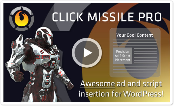 Click Missile Ads Plugin for WordPress - HeatMap Theme