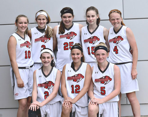 7th Grade Girls-Fauser