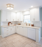 Everyone loves a classic white kitchen!