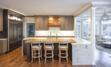 Inviting Transitional Kitchen
