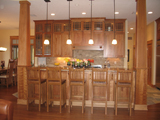 Timeless Craftsman style kitchen design.