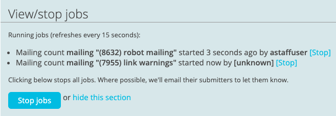 Release Email Archive — ActionKit Manual