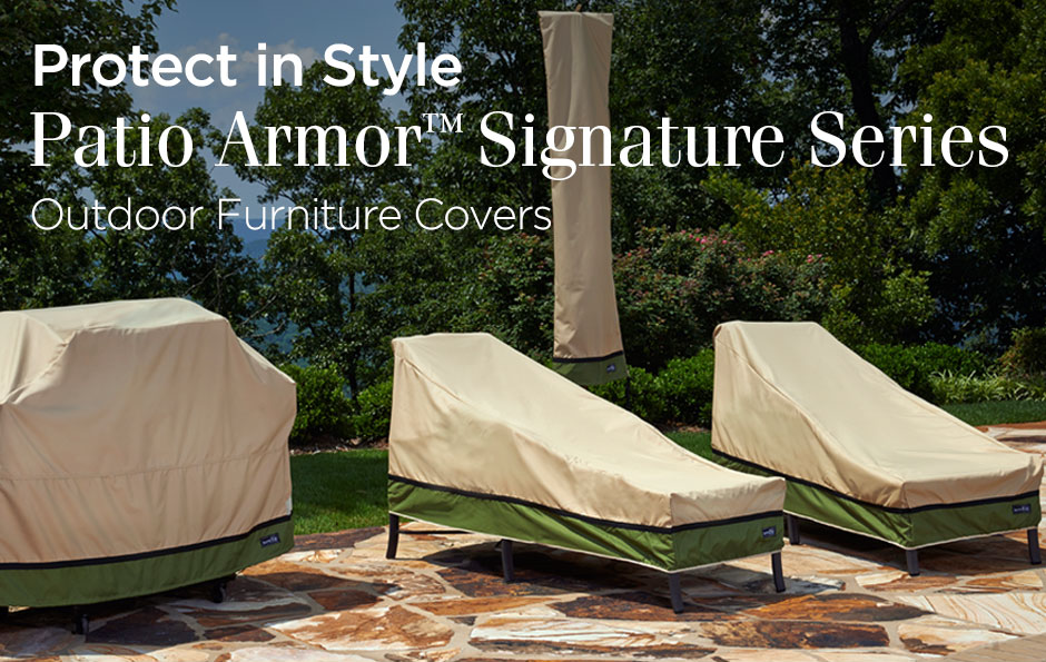Perfect Patio Armor™ Signature Series By Sure Fit Is An Exclusive Collection Of  Premium Outdoor Furniture Covers. These Superior Quality Covers Are  Constructed With ... Part 32