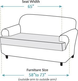Loveseat Tcushion Furnituresize Seatwidth
