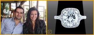 Custom Diamond Rings Testimonial from James Cull