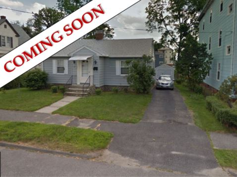 Coming Soon!  Cute little ranch in need of some TLC.  This has 2 bedrooms, 1 bath and approx 900sf.  Basement can be partially finished to add more living space.  1 car detached garage with storage area and nice little fenced in back yard
