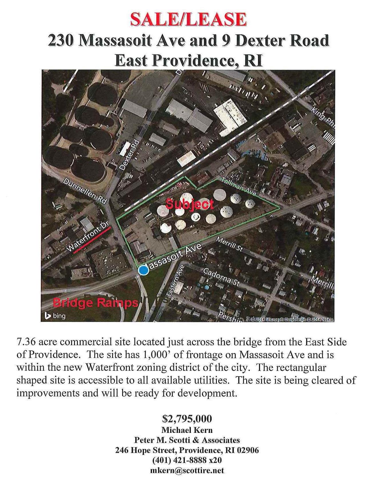 230 Massasoit Ave. & 9 Dexter Rd., East Providence,
