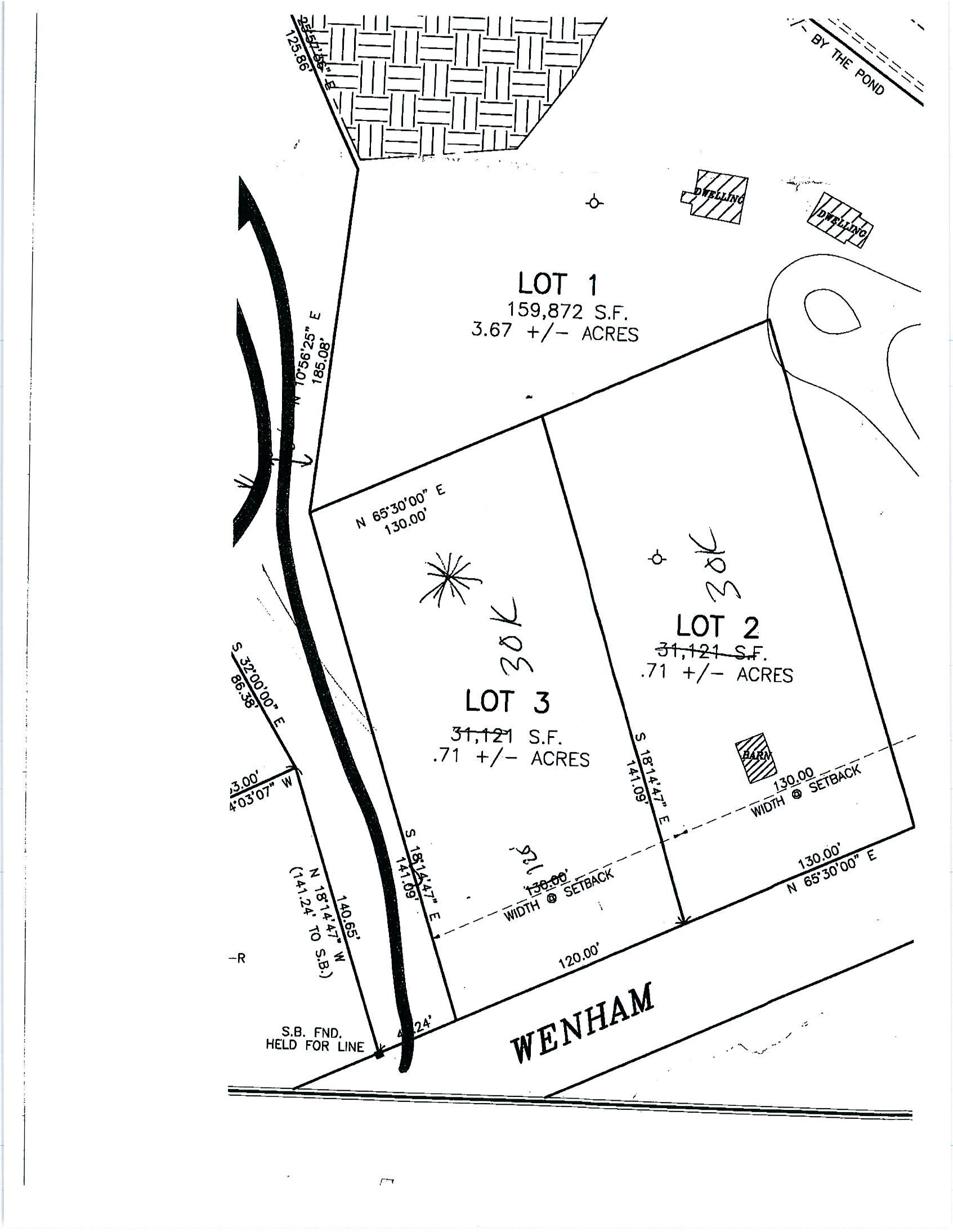 Lot 3 Wehnam Road, Carver, MA 02330