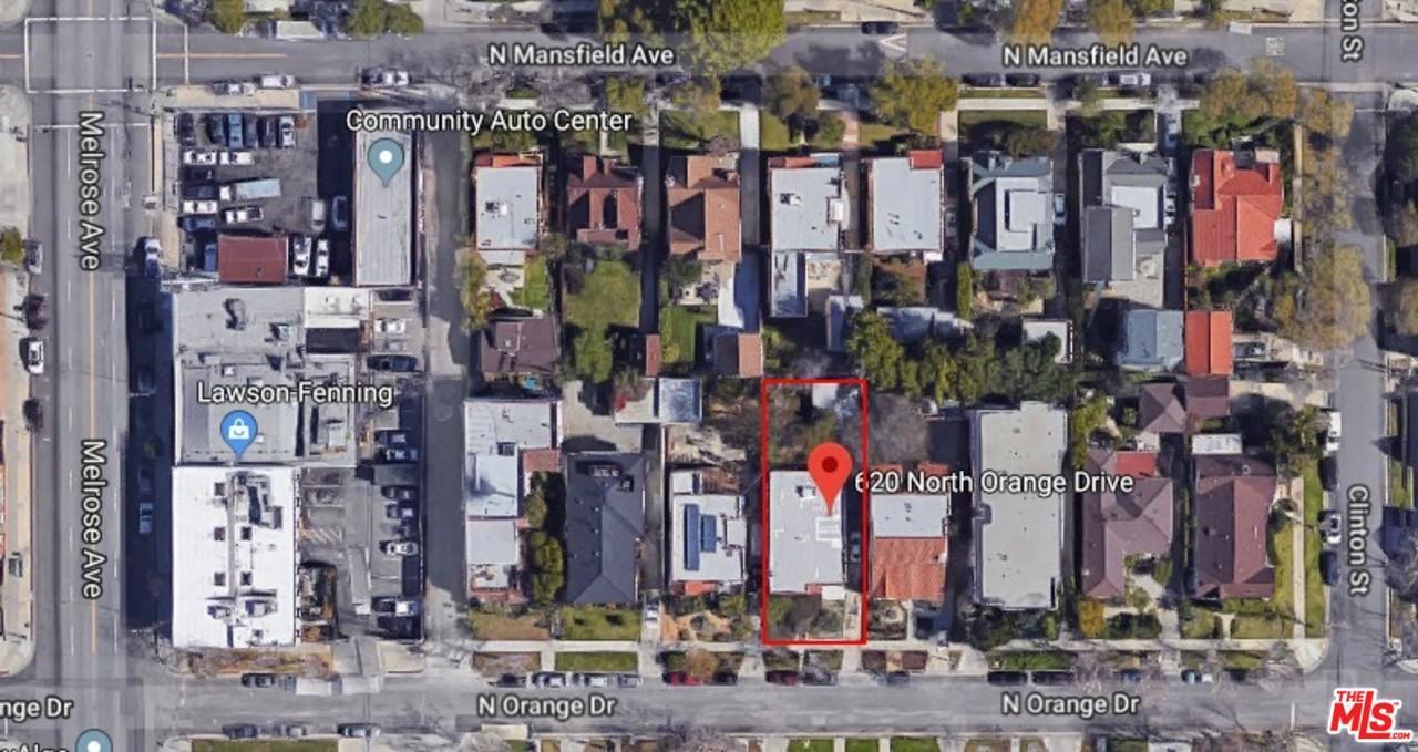 620 N Orange Drive, Los Angeles, CA 90036