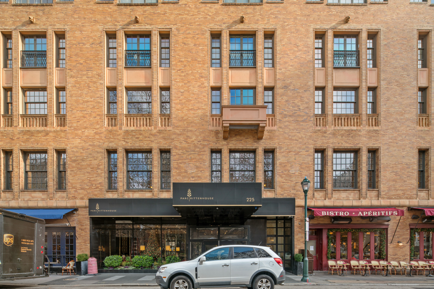 Parc 1 Bedroom at a great price!  Live on the on the Square in one of Parc's largest 1 bed layouts!  Open floorplan features Brazilian Cherry Hardwood Floors, high ceilings, marble bathroom and a super nice kitchen with granite countertops and a stainless appliances. The unit features an open floor plan that includes a very nice balcony that overlooks the interior courtyard!  There are over lots of upgraded recessed lights! The large bedroom features a super large custom built walk in closet!   Parc has a pool, a deck with skyline views, a fitness room and an owners lounge!  Not to mention, you are living on Rittenhouse Square!  Closet to everything center city has to offer!