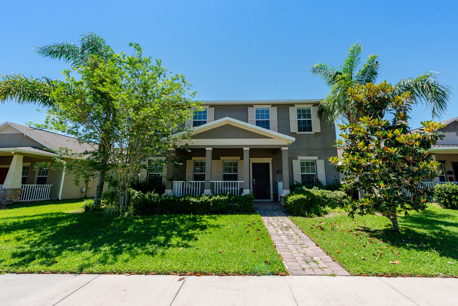 Enjoy breathtaking views of Disney's fireworks without ever leaving home! Live like you're on vacation every day in this move-in ready home showcasing stunning lake views, an extensive paver driveway, a private fully fenced backyard, plus plenty of community amenities. Discover the magic!