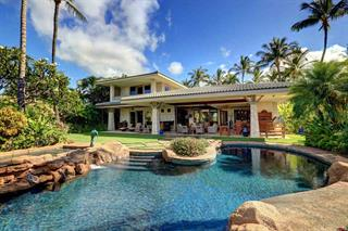 One of the most stunning homes in Wailea.  Oceanfront development Maluhia at Wailea, right in the heart of Wailea Resort.  Picturesque serene, spectacular  ocean views, beautiful pool area and home.