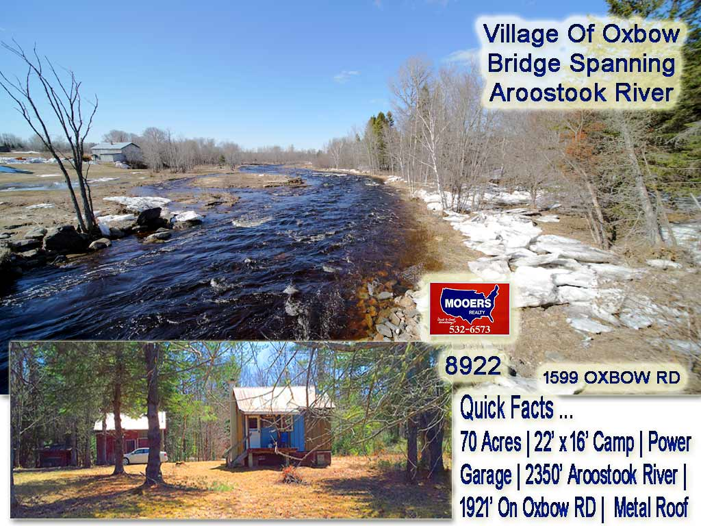 Lot 25 Oxbow Road, Ashland, ME 04732