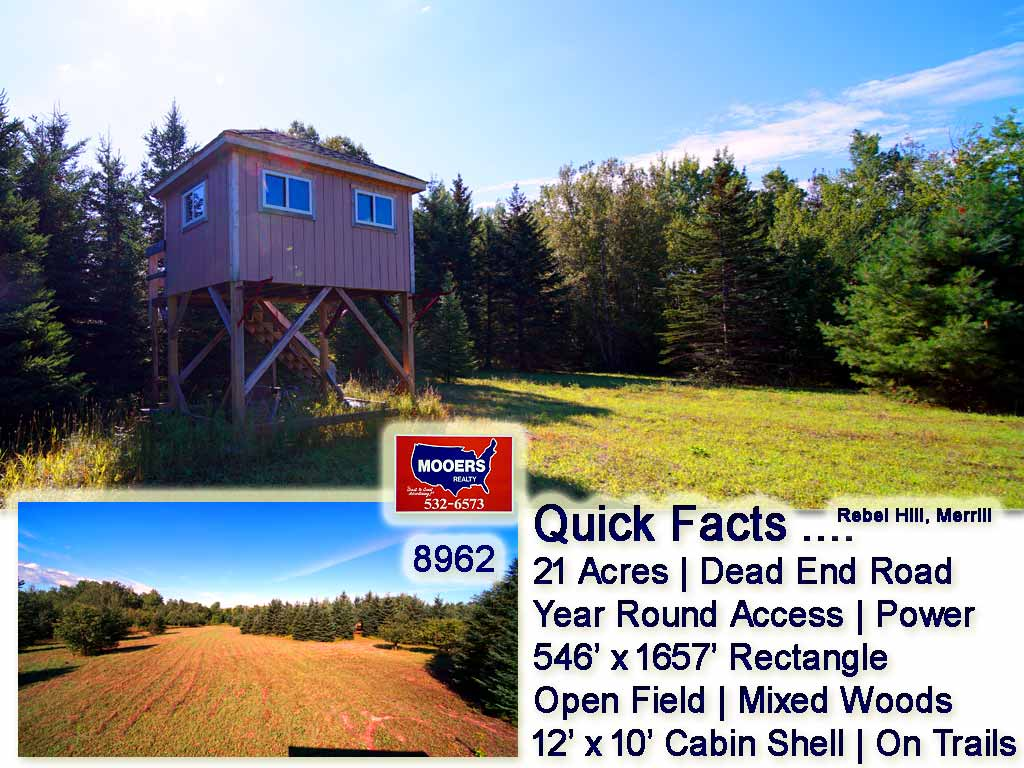 Lot 22 Rebel Hill Road, Merrill, ME 04780