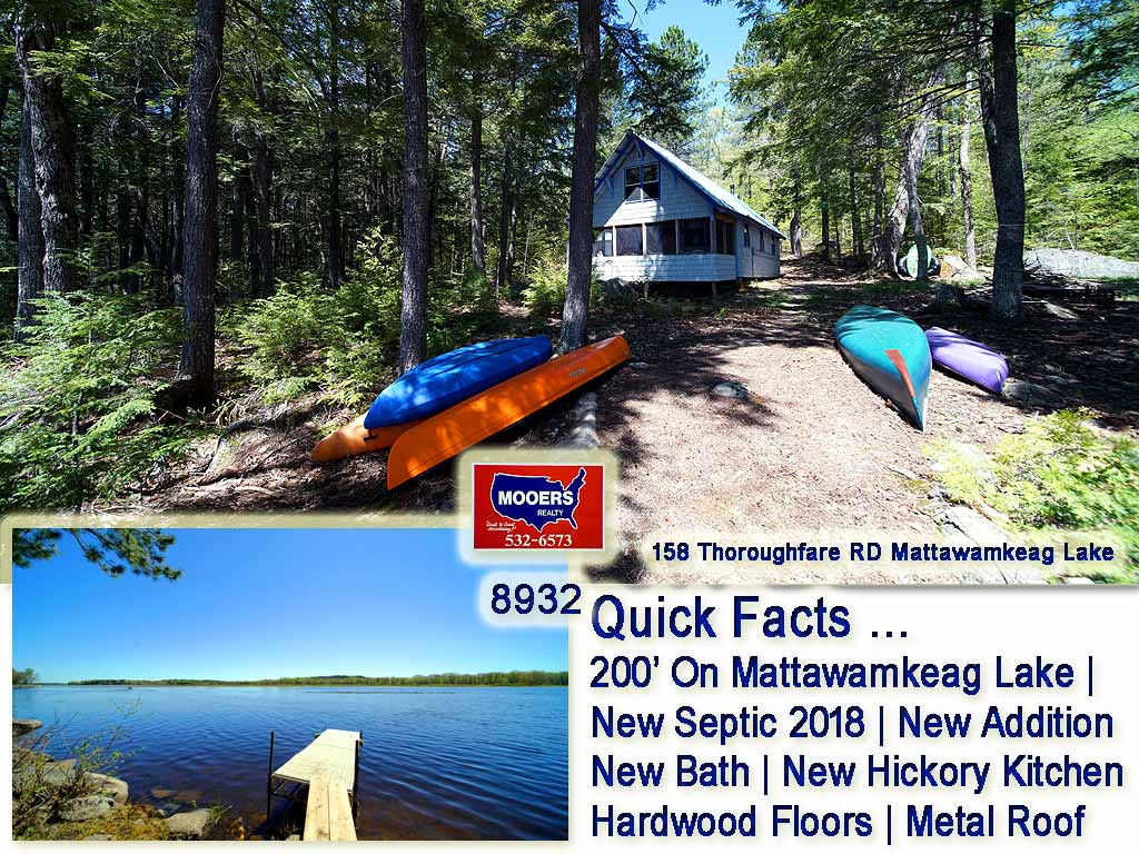 158 Thoroughfare Road, Island Falls, ME 04747