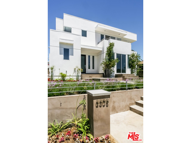 "Come home to this modern marvel in highly sought after Mar Vista Hill. The spectacular west view is incorporated into the design of this new construction home by designer Dio Yang. An open floor plan with indoor-outdoor appeal allows for intimate dinner parties and large events. Both fire and water features are to be enjoyed from inside and outside. An outside entertaining area, with opera-style staircase makes a special impression.The dual level yard design is one-of-a-kind in this area, maximizing usability of the yard. All room with en-suite bathrooms, built-in storage areas, custom wood doors, large closets. Master suite with multiple closets, view, fireplace, balcony. All this plus a working laundry chute,living room fireplace, tankless wh, all make for easy living. Quartz counters, Viking appliances, Brizo fixtures, ""green"" LED lighting, custom cabinets, stained wood doors, wired for sound, wine refrigerator. 3/3 upstairs, 2/2.5 downstairs. Live in the best LA has to offer!"