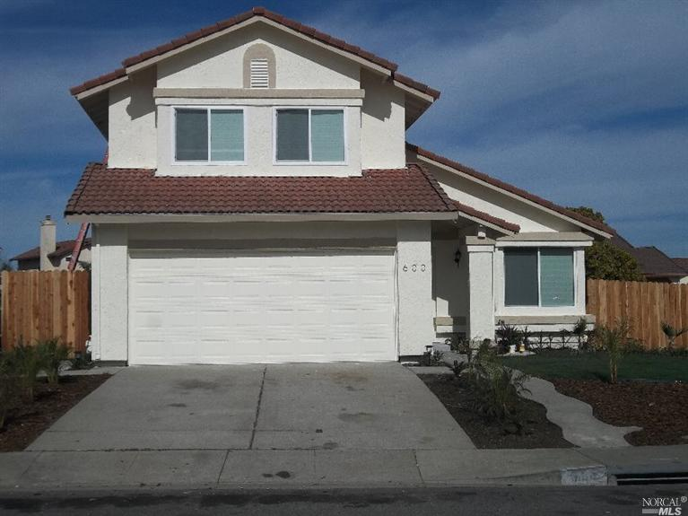 Beautiful totally remodeled home on the border of Vallejo and American Canyon. Excellent curb appeal. Landscaped front yard. Exterior and interior newly painted. New hard surface floors. Kitchen is totally remodeled. New stove, new cabinets, new granite counter tops and new windows.