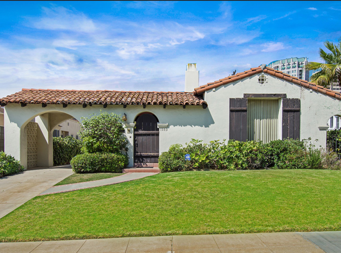 Located on a great quiet street in a prime Westwood neighborhood sits this authentic Spanish home with 3 bedrooms & 2 bathrooms. Loads of potential here! Charming covered courtyard leads you into the classic entry. There is a generous living room off the entry with the original large front picture window, 2 sets of French style doors that lead to courtyard & original coved built-in book cases that flank the fireplace. Ample sized dining room with coved ceilings, chair rails. Kitchen with eat-in area & access to courtyard. Laundry room leads to flat private backyard with room for pool. Central A/C. Charming vintage touches throughout such as telephone nook in hallway & built-in linen closet. Two car garage with attached work room. Porte-Cochere with plenty of room for parking. Fairburn Elementary School.