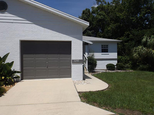 2 bedroom, 2 bath Condo with a one car garage coming available the first week of April.  Can show by appointment with 24 hours notice required.  Rent includes lawn care, and trash service (dumpster).  Currently rented until 3/31/2021 so any lease dates will need to start after turnover.  Condo is located on a small cul-de-sac with an additional parking space.  One small pet only with pet fee. Background and credit check required as well as 1st, Last, and Security to move-in.