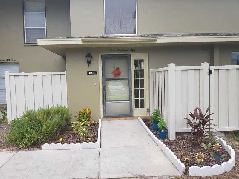 Check me out! This fully furnished 2/2 townhouse is situated in the Islands of Dixie Shores & sits in an excellent location on the water with a dock included. Bring yourself, your boat & your fishing gear. This home is ready for new tenants. Requires a 3 month minimum stay. Community pool & tennis courts included. $150.00 cap on electric, anything over that amount is the tenants responsibility. No pets allowed.