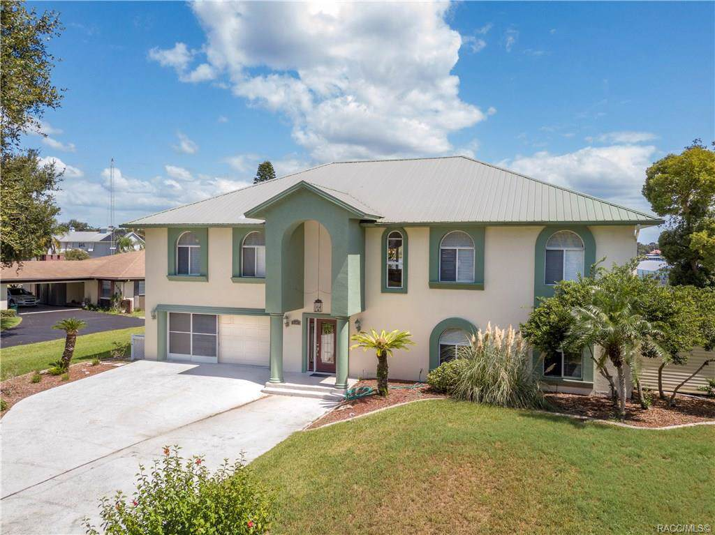 Big PRICE DROP!!If you want a home with Million Dollar Views on Crystal River - THIS is the place! This updated, open concept, smart home is great for entertaining and has two full kitchens, two large greatrooms, two boat lifts, a refinished pool with new energy efficient heater, a Spa, new roof in 2014, two new A/C's in 2017, and new upgraded floors and upstairs doors. Downstairs is for fun with the pool kitchen, dining area, huge great room, a bedroom and a BUNKROOM for the kids. Once you walk into the more formal upstairs you'll be delighted with the long bank of windows that allows such an open view of the river. and Kings Bay. The pool with it's expansive deck looks out across the large lawn to the docks with their 6000 and 12,000lb lifts, fishing station and two davits for your personal watercraft. As a bonus, when you are relaxing in the hot tub on a quiet night, you can hear the manatees breathing nearby in the Crystal River. Property Features Association YN	No Community Features	Shopping Documents Available	AerialDisclosure(S) Laundry Features	Laundry - Living AreaLaundry Tub Listing Terms	CashConventional Pool Private YN	Yes Possession	Closing Property Sub Type	Single Family Residence Security Features	Smoke Detector(S) Sewer	Septic Tank Tax Annual Amount	8027 Tax Year	2018 Utilities	High Speed Internet AvailableUnderground Utilities Water Source	Public