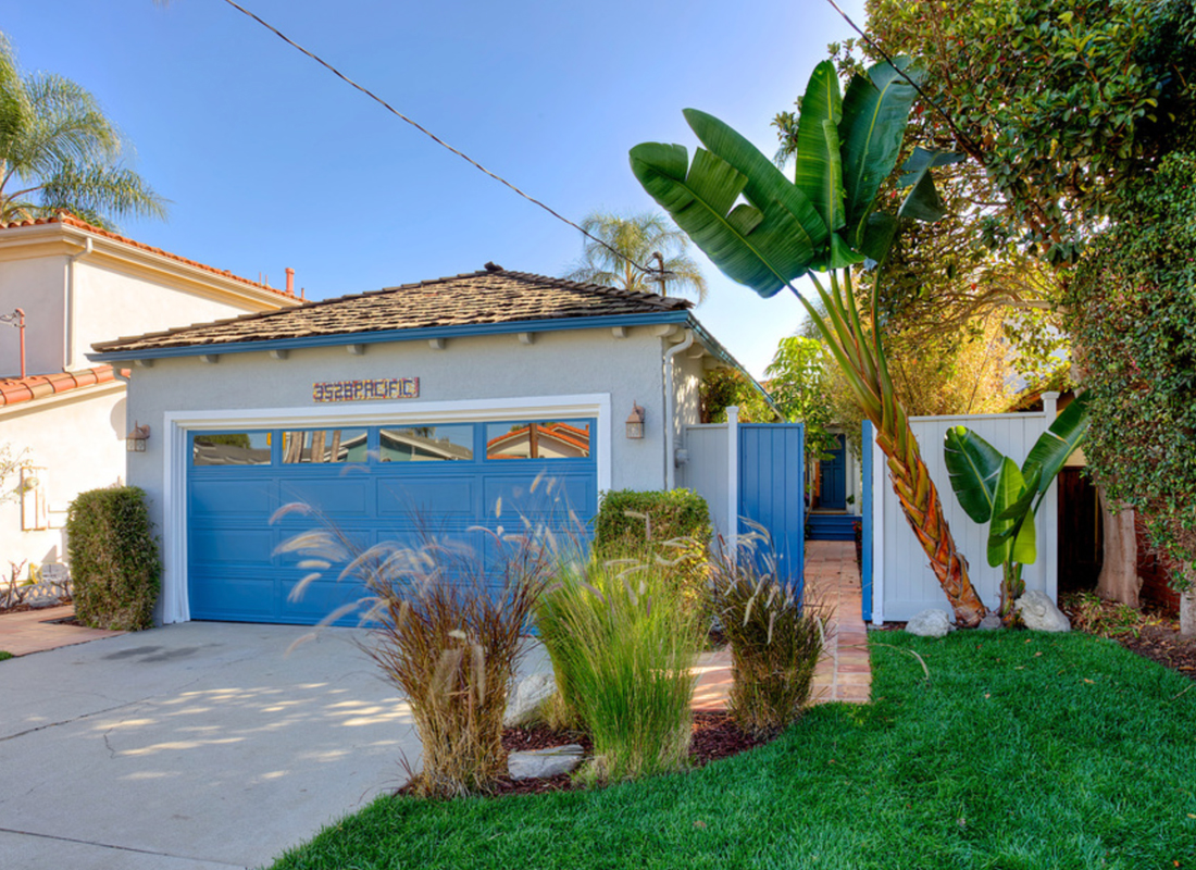 Come Home to This Very Pretty Manhattan Beach Tree Section Home with Sweet Private Courtyard style Entrance. 3 Bedrooms, 2 Bathrooms and a Powder Room. The Floor Plan is very inviting with Great Flow. Nice Yard area and Side patio for Entertaining. Terra Cotta Tiles on the Patio Area. Freshly Painted Inside and Out, European Waxed Wood Floors, French Doors. Large en-suite Master has New carpet and French Doors that Open to the Side Patio, Perfect for a Nice Spot of Tea in the Morning. Back Patio has a nice Grassy Back Yard Area. Mostly new Landscaping and Light Fixtures. New bathroom vanityy counter tops, new bathroom light fixtures,new toilets. New window screens. The Living Room has a Cozy Fireplace for Chilly Beach Nights. Smell the Ocean Air. Lovely Curb Appeal. Estate Sale, No Court Confirmation. Priced to sell quickly. Move in and enjoy.