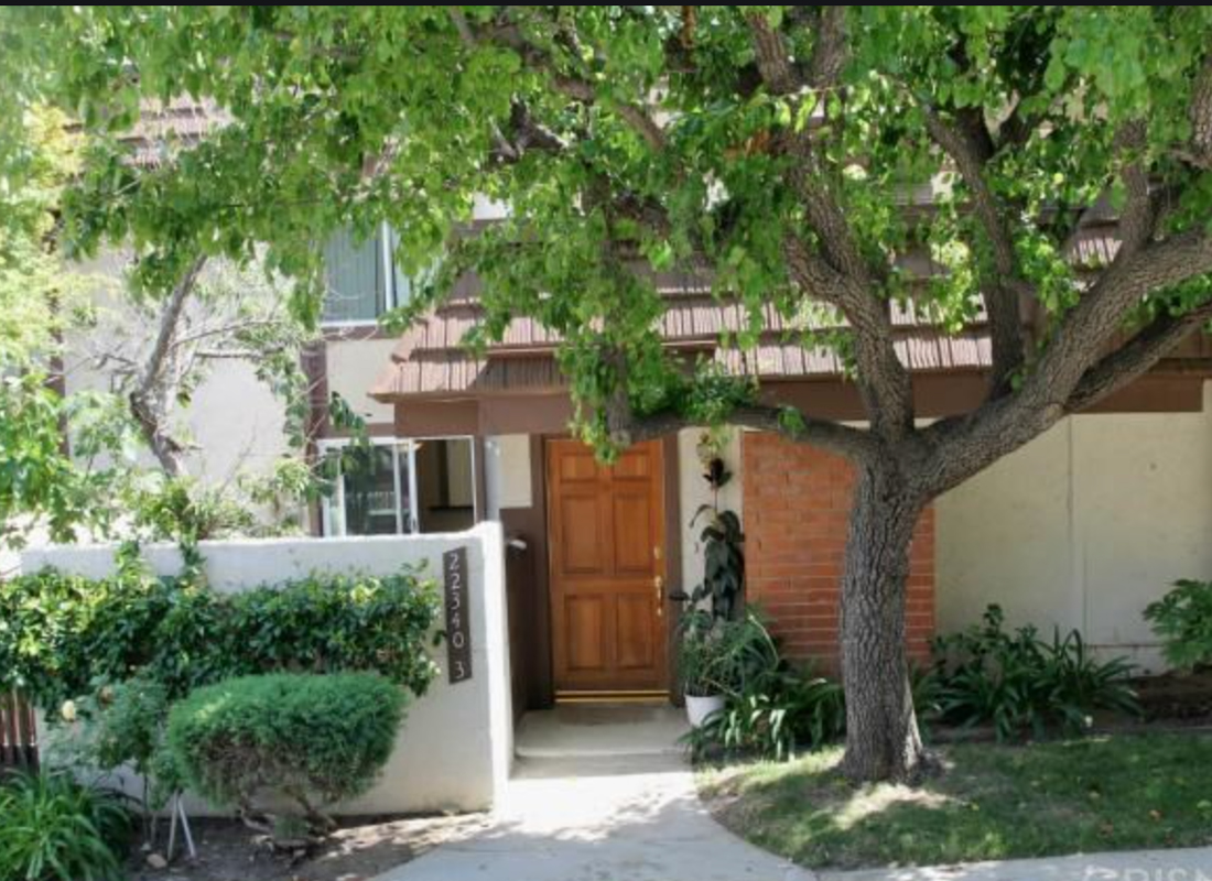 Magnificent, Highly Desired, Rockpoint Townhome, Nestled Peacefully at the Foot of the Santa Susana Mountain Park. This stunning 3 bed, 3 bath, 1773 sq ft home features a gorgeous remodeled kitchen, with a granite counter top and island, new stainless refrigerator, dishwasher and stove exhaust over newer stove, over looking a lovely garden window. The hallmarks of the living room are the soaring vaulted ceilings, recessed lighting, cozy fire place and double paned sliding glass doors leading out to the tranquil, enclosed patio. The elegant formal dining area, with a mirrored wet bar, and den, also open out to patios, through double paned sliding glass doors. The remodeled downstairs bath room, with shower, is divine. The Master bed room is spacious, with ample storage, a bath and new windows allowing glistening sunlight in. The two additional bedrooms upstairs are large and they share a full bath. There are engineered hardwoods downstairs and double paned windows and new blinds, through out. Newer copper plumbing, a freshly painted, 2 car, attached garage, with built in storage above and access to the den. Buyer to do all of their own investigations and verifications of property condition and possibility of any future improvements.