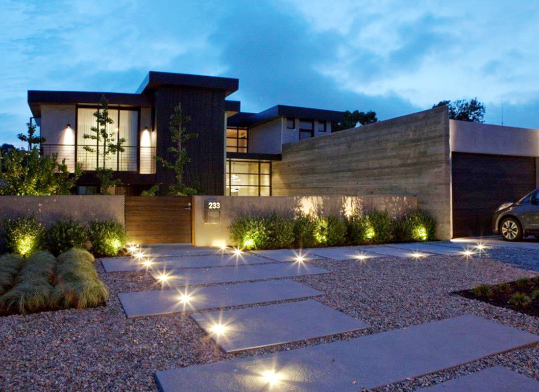 BACK ON MARKET - - - - -MODERN Masterpiece. This one is special. Gated entry leads to a 250-pound mahogany front door that pivots open. Zinc siding, massive concrete wall & entry water feature set first impressions. Large & perfectly scaled spaces synthesizing the exterior with the interior, like no other. It is indeed a highly committed MODERN structure, but, very warm, completely comfortable & all about family space. Almost 5600 sq. ft on an exceptionally large 14,000 sq. ft lot this home features 4 stunning bedrooms, each with own thermostat, en-suite bathroom with heated floors & walk-in closet w/ light sensors. The office pavilion has its own entrance and is within view of the main living areas indoors and outdoors. The master bedroom features a showcase bridge of steel and glass connecting it to the bathroom and walk-in closet. 7 sets of custom sliding glass walls open to a personal resort w/ 2 living areas w/ 2 custom built-in fire pits, a dining area w/ built-in BBQ, a BAJA ledge entry pool & a sand volleyball court. It's the perfect space for the consummate entertainer with many seating & lounging options. The entire home is run on solar power. The smart system controls Lutron lighting system, radiant heat, AC, garage door, pool temp., music, electric shades & drapes etc. 15 minutes to LAX, if you really need to leave this amazing slice of paradise.