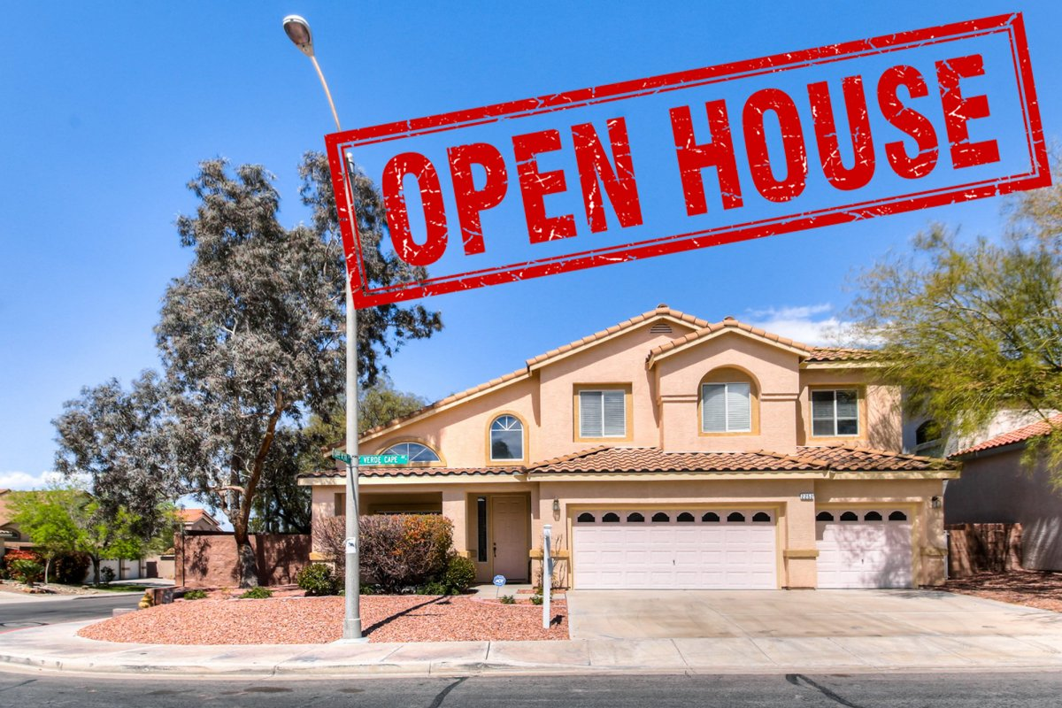 OPEN HOUSE - Saturday, April 20th from 11AM-2PM!!!! This wonderful home is located adjacent from Green Valley Ranch with many top rated Henderson schools for the family. Take a drive to the Green Valley Ranch Hotel and shopping District to enjoy a great night out. This home also features over 2700 Sq ft with 4 bedrooms, 3 baths, and ¾ bath plus bedroom on main level. This home offers Las Vegas Strip & Mountain views. Upon walking through the front door you'll notice the entertainer's floor plan with brand new laminate wood style flooring, a bright and open floor plan with vaulted ceilings. Separate formal dining & living room. This open concept Island kitchen has lots of cook space for parties and a sunny kitchen nook area. Also, it features a gas cook top stove, Maple cabinets, and Pull out faucet. The spacious family room offers fireplace, high ceilings and pre-wired for surround sound. Upstairs you will notice the spacious loft with easy access to the shared guest bath. The Master suite has a walk-in closet, sitting room, double sink vanity and soaking tub.  Relax outside in the private shaded backyard which has a professional landscape and two patio areas. Enjoy the Green Valley Ranch area which features the GV shopping district, walking paths, biking trails, green belts, and many local parks. This is a home and community you can feel safe in while doing the things you like most.