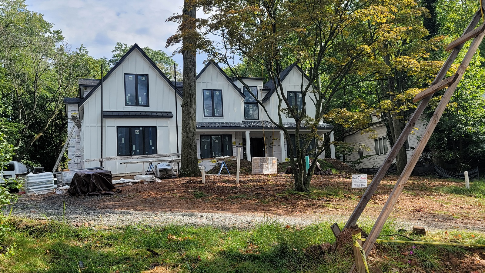 NEW CONSTRUCTION, ON A PRIVATE ONE ACRE, ON TENAFLY'S EAST HILL FOR UNDER $3 MILLION? YES, THIS IS NOT A MISTAKE!   Picture yourself in this luxurious home with the best of indoor/outdoor amenities. Completion Q1 2022  Featuring approx. 7300 sf living, 6 bedrooms, 6.5 bathrooms, 3-car heated garage, outdoor living that includes a pool with a spa, Outdoor cooking space with grill, stovetop, and refrigerator.  Style and flair are evident all around this home with its MADE IN ITALY kitchen, black framed windows, 6' wide Pocelanosa engineered floors, high ceilings and radiant heated bathroom floors.  Additional features include a home theater, gym, fireplaces in the great room and in the master bedroom, a full house generator and SMART-HOME WI-FI compatible door-bell, front door lock and thermostats, black top driveway with Belgian block apron.