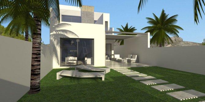 3 bed detached villas with garage, Benijofar