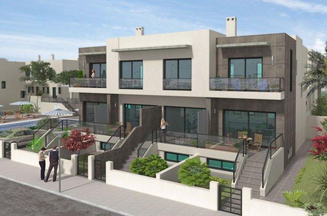 New 2 bedroom townhouses, Benijofar