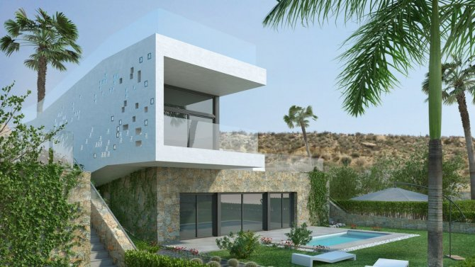DETACHED VILLAS ON LA FINCA GOLF COURSE